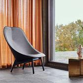 85折免運-北歐布藝休閒椅創意椅花瓣椅扇形椅設計師椅貝殼椅子WY