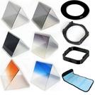 攝彩@15合1 ND2 ND4 ND8 減光 漸層 漸變鏡x7+ND鏡x3+環+托架+遮光罩+濾鏡包+收納盒-21006