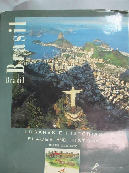 【書寶二手書T4/歷史_E4G】Brasil / Brazil. Lugares E Historias Places And History