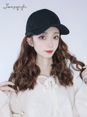假發帽子一體女短發韓版潮款鴨舌帽ins時尚棒球帽夏季太 花樣年華