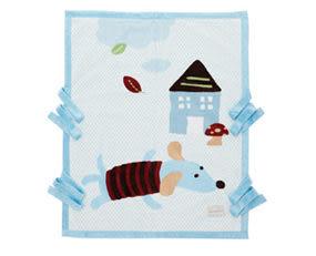 ◎babyroom◎奇哥 嬰兒棉帽帶毯(現+預)