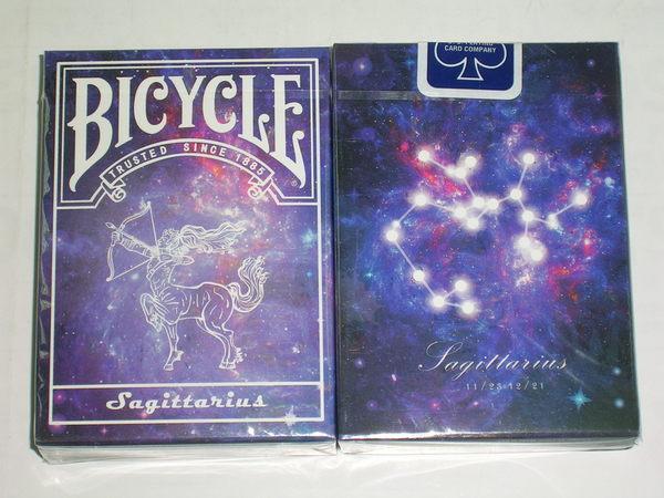 【USPCC撲克】Bicycle sagittarius deck 射手座 星座 撲克牌