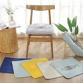 純棉四季坐墊椅墊椅子墊餐椅墊學生椅子坐墊薄辦公室汽車座墊防滑 創意空間