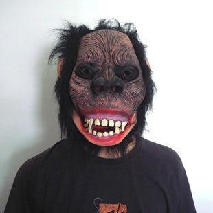 恐怖毛猩猩面具95g 款式隨機發