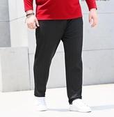 加肥加大碼休閒長褲顯瘦潮胖子冬季胖人彈力 ☸mousika