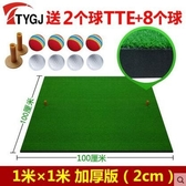設計師美術精品館TTYGJ正品 高爾夫打擊墊 加厚版 練習墊/球墊 送高爾夫球TEE