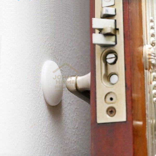 約翰家庭百貨》【UA043】門頂門後牆面矽膠防撞靜音墊 開門、門吸門把手防噪防碰片防撞粒