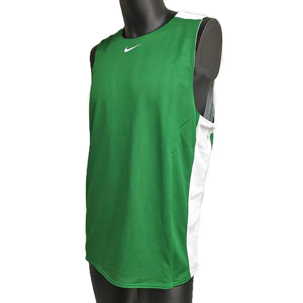 Nike AS M League REV Tank [614450-302] 男 籃球 訓練 背心 透氣 雙面穿 鮮綠