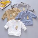 寶寶春秋長袖T恤韓版兒童圓領打底衫男女童洋氣純棉上衣1-2-3-4歲