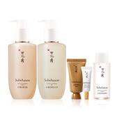 Sulwhasoo 淨透保濕潔顏油200ml+淨透保濕潔顏泡沫200ml+與潤面膜EX 30ml+潤燥養膚精華4ml+