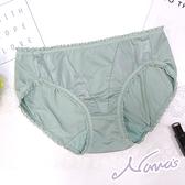 【露娜斯】素雅格調。透氣舒適包臀三角內褲【青綠/芋紫】台灣製P8756