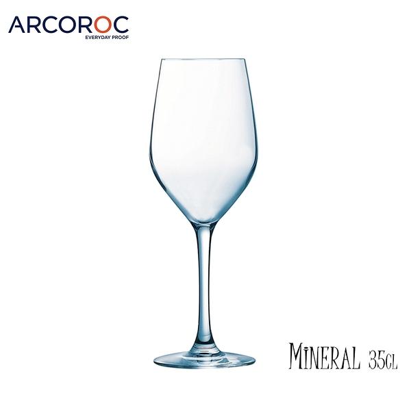 法國樂美雅 Arcoroc Mineral曠世 350mL 紅酒杯 酒杯 高腳杯 玻璃杯 薄杯口