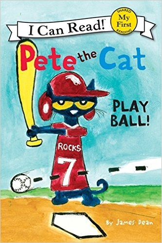 (An I Can Read系列 My First ) PETE THE CAT: PLAY BALL /讀本