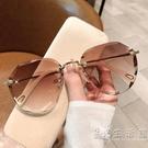 墨鏡女ins2020年新款圓臉韓版潮時尚太陽眼鏡防紫外線大臉顯瘦21 小時光生活館