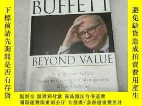二手書博民逛書店Buffett罕見Beyond Value:Why Warren