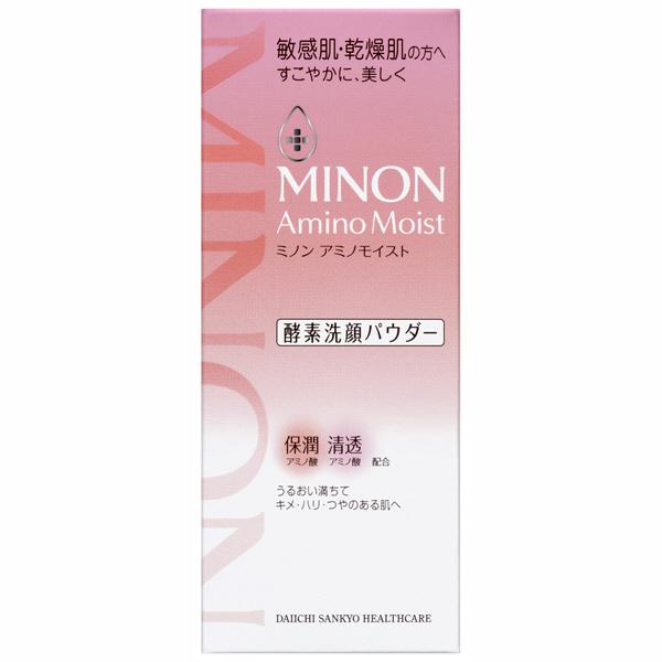 日本製Minon Amino Moist 洗顏粉 敏弱肌潤澤酵素 35g【JE精品美妝】