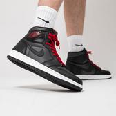 """【現貨折後$5999】CLASSICK- NIKE Air Jordan 1 High OG """"Black Satin"""" 黑絲綢 黑白紅 休閒 運動 籃球鞋 喬丹"""