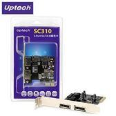 Uptech 登昌恆 SC310 2-Port SATA III擴充卡