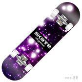 初學者滑板車四輪成人兒童青少年男孩小學生滑板華板車滑行車 ZJ1072【Sweet家居】