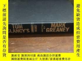 二手書博民逛書店Tom罕見Clancy's commander in chief