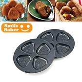 露營鬆餅機烤盤【U0043 A 】recolte  麗克特Smile Baker  三角烤盤收納專科