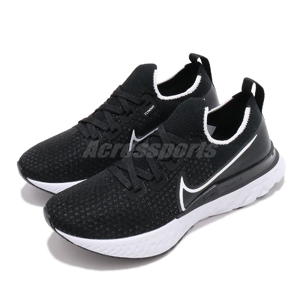 Nike 慢跑鞋 Wmns React Infinity Run FK 黑 白 女鞋 運動鞋 【ACS】 CD4372-002