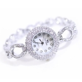 新款熱銷手錶 高檔鏈錶珍珠滿鑽女錶《小師妹》yw97