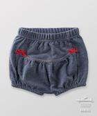 Hallmark Babies 女嬰 春夏棉質牛仔色條紋短褲 HE1-A05-08-BG-PN