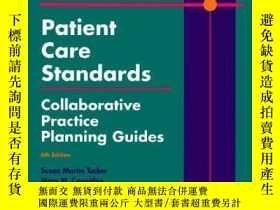 二手書博民逛書店Patient罕見Care Standards: Collaborative Practice Planning