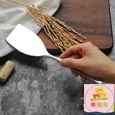 料理鏟 1810不銹鋼鐵板鏟料理鏟牛排鏟燒烤鏟蛋糕鏟平頭小鏟刀帶刃煎鏟【樂淘淘】
