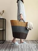 臟衣服收納筐臟衣籃家用裝放衣物的籃子臟衣簍洗衣桶婁框收納神器