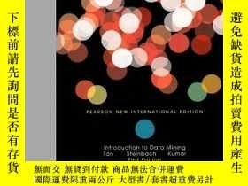 二手書博民逛書店Introduction罕見To Data MiningY256260 Pang-ning Tan Pears