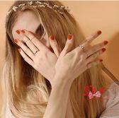 尾戒 十件套裝戒指女日韓潮人個性簡約學生食指環飾品細關節戒小指尾戒 多款可選