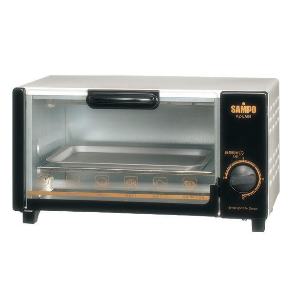 【中彰投電器】SAMPO聲寶(6公升)電烤箱,KZ-LA06【全館刷卡分期+免運費】15分鐘定時,操作簡單~