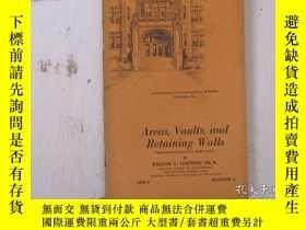 二手書博民逛書店民國:Area罕見Vaults and Retaibing Walls【USA】關於房屋建築結構等Y21905