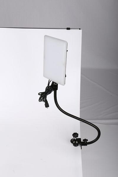 黑熊館 20W Led手機燈 + 軟管 + U行夾 套裝組 手機翻拍組 簡易攝影 翻拍 商攝 補光 小物拍攝