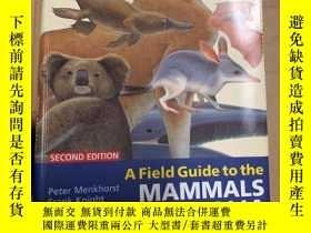 二手書博民逛書店A罕見Field Guide To The Mammals Of