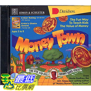 [106美國暢銷兒童軟體] SIMON & SCHUSTER Money Town B000083GPR