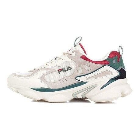 FILA Skipper 復古老爹鞋 米白綠 NO.4J528U940