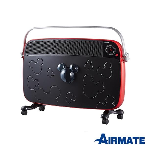 《福利新品促銷》AIRMATE艾美特 HC13050R即熱式遙控電暖器(迪士尼米奇系列)(拆封新品、非展示機)