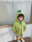 包屁衣秋冬韓版加絨嬰兒衣服可愛幼兒哈衣爬服連身衣【奇趣小屋】
