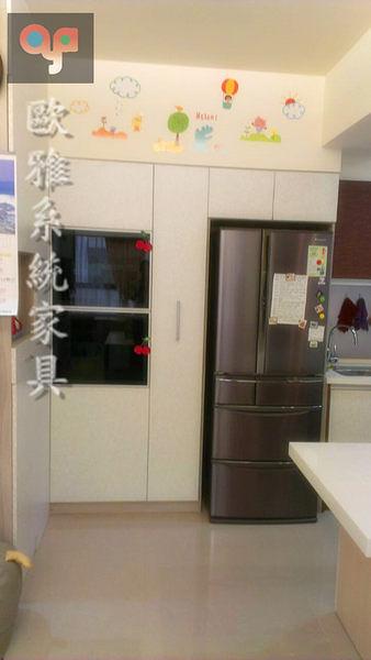 【歐雅 系統家具 】多功能廚具餐邊電器櫃