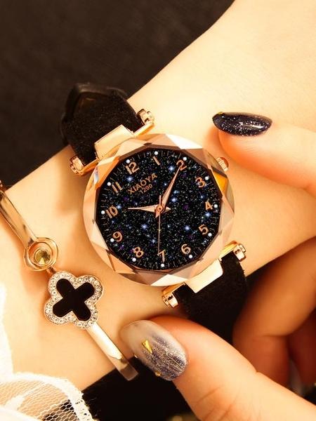 韓版時尚潮流簡約氣質手錶女士年新款 琪朵市集