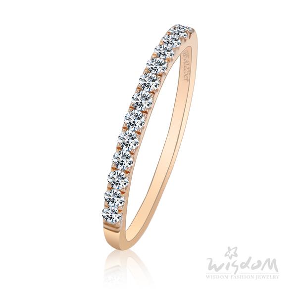 威世登 真愛光年 玫瑰金鑽石戒指 婚戒推薦 情人節禮物 DA01977M1-BDEXX