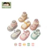 寶寶地板鞋春秋軟底兒童地板襪嬰兒鞋襪防滑小孩學步襪小童襪子鞋 幸福第一站