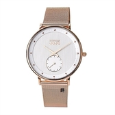 NATURALLY JOJO 優雅時尚 小秒針手錶 (JO96959-80R)玫瑰金/36mm