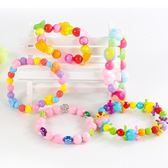兒童禮物女孩公主24格手工diy串珠益智玩具穿珠子手錬可愛飾品 3C優購