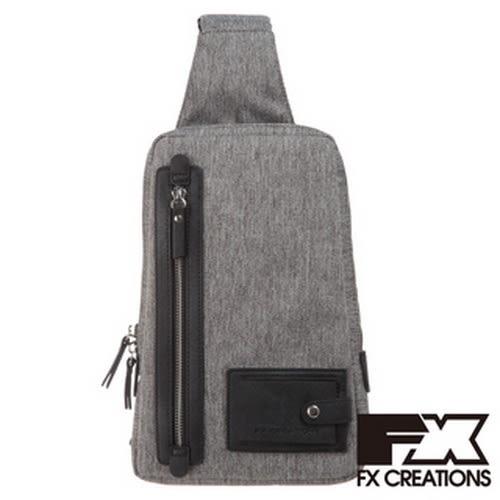 FX CREATIONS - KAG系列-單肩包-淺灰-KAG69638-21