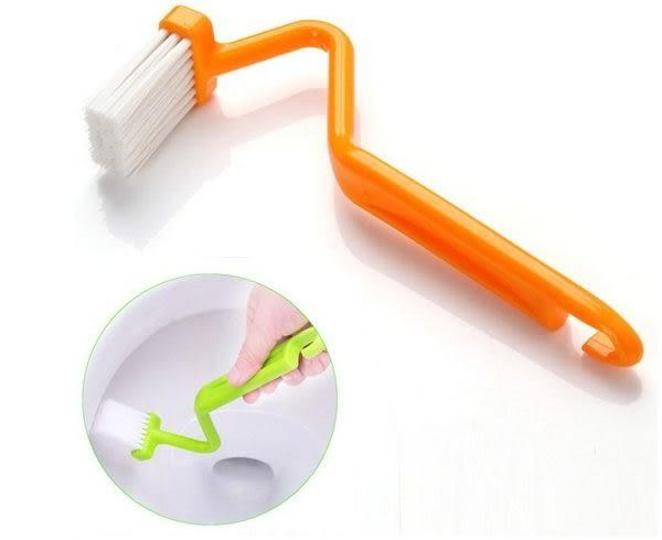 【現貨】v型馬桶刷 彎曲馬桶刷 馬桶清潔刷子 V型高效馬桶刷 顏色隨機發貨