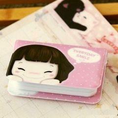 韓版可愛妞子悠遊卡包 信用卡包 金融卡包(12卡)-艾發現